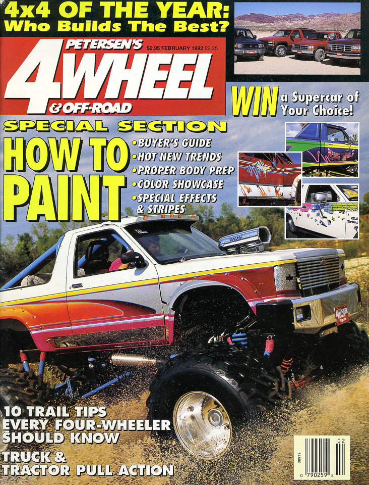 petersen 39 s 4wheel off road vol 15 no 2 magazine feb 1 1992 at wolfgang 39 s. Black Bedroom Furniture Sets. Home Design Ideas