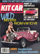 Petersen's Kit Car Vol. 6 No. 1 Magazine