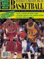 Petersen's Pro Basketball 1991-92 Magazine