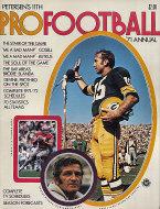 Petersen's Pro Football Annual 1971 Magazine