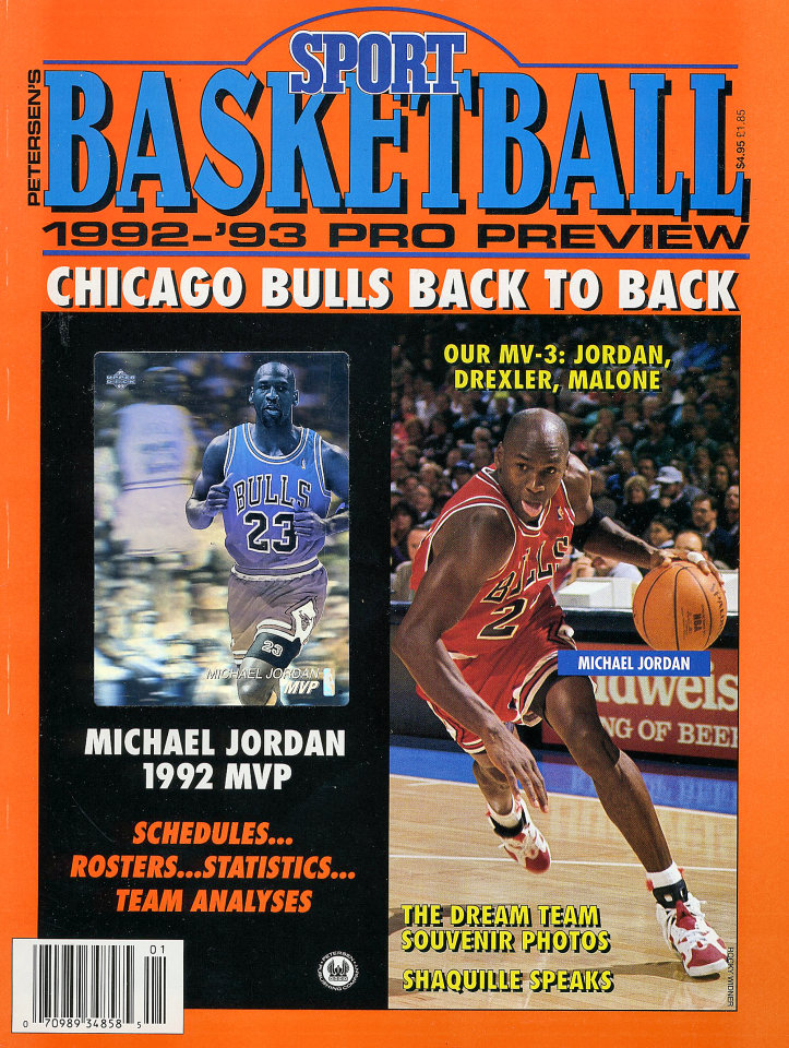 Petersen's Sport Basketball: 1992-'93 Pro Preview
