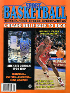 Petersen's Sport Basketball: 1992-'93 Pro Preview Magazine