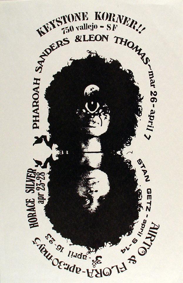 Pharoah Sanders Poster