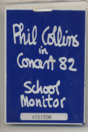 Phil Collins Laminate