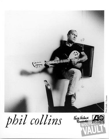 Phil Collins Promo Print