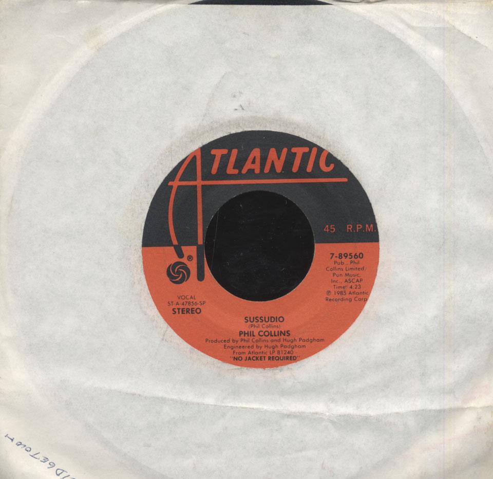 "Phil Collins Vinyl 7"" (Used)"