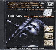 Phil Guy CD