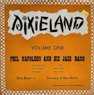 "Phil Napoleon And His Jazz Band Vinyl 10"" (Used)"
