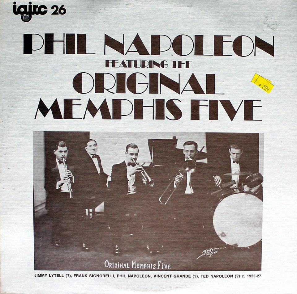 """Phil Napoleon Vinyl 12"""" (Used)"""