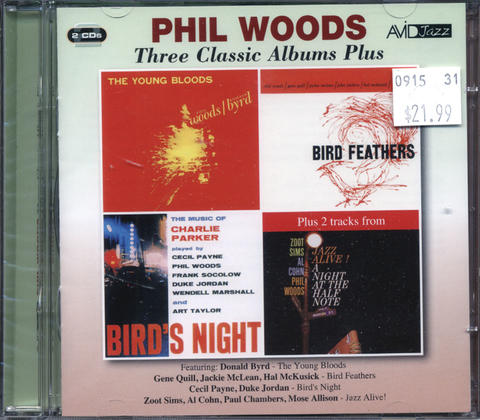 Phil Woods CD