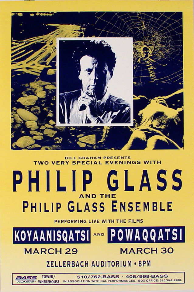 Philip Glass Poster