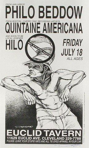 Philo Beddow Handbill