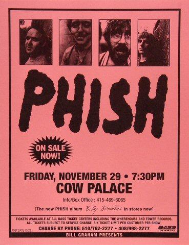 Phish Handbill