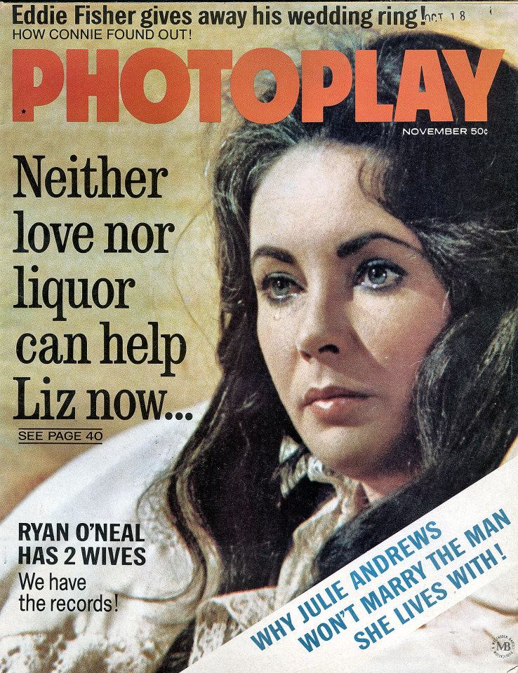 Photoplay Magazine November 1968