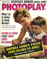 Photoplay Magazine September 1962 Magazine