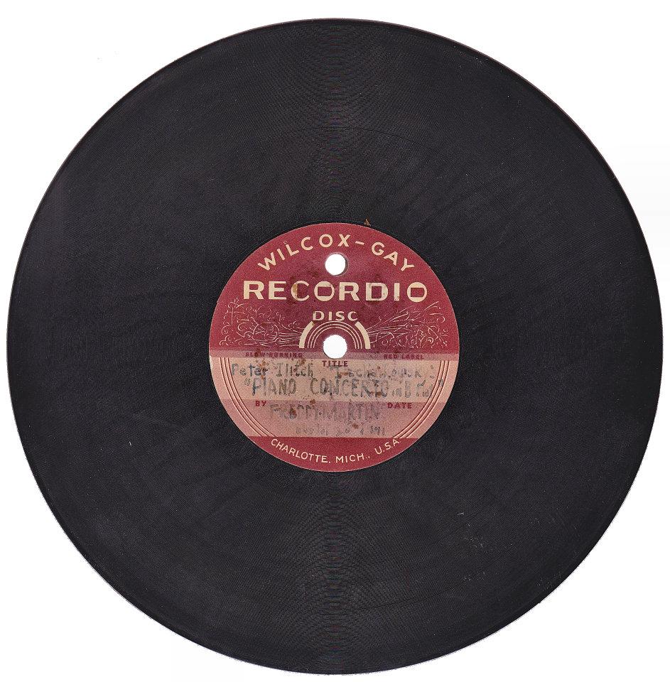 Piano Concerto / Flying Home Homemade Vinyl