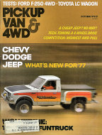 Pickup Van & 4WD Vol. 5 No. 1 Magazine