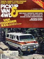 Pickup Van & 4WD Vol. 6 No. 3 Magazine