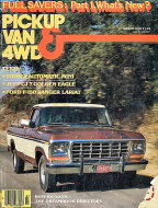 Pickup Van & 4WD Vol. 6 No. 6 Magazine