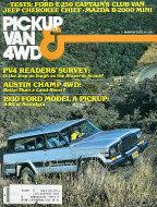 Pickup Van & 4WD Vol. 7 No. 6 Magazine