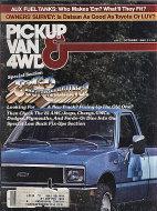 Pickup Van & 4WD Vol. 9 No. 1 Magazine