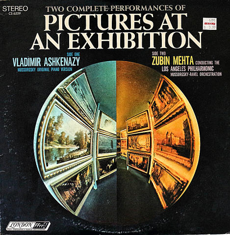 "Pictures at an Exhibition Vinyl 12"" (Used)"