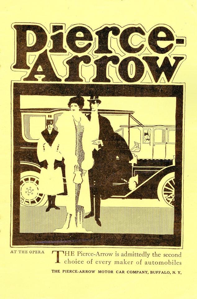 Pierce-Arrow Vintage Ad