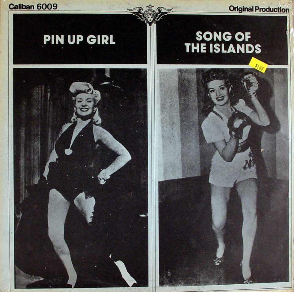 """Pin Up Girl / Song Of The Islands Vinyl 12"""" (New)"""