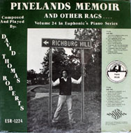 "Pineland Memoir Vinyl 12"" (New)"