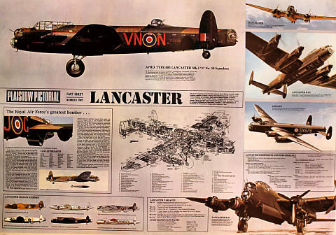 Plaistow Pictorial Fact Sheet Number Two Lancaster Poster