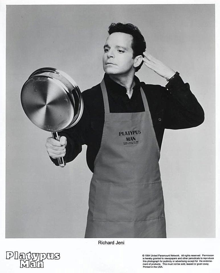 Platypus Man Promo Print