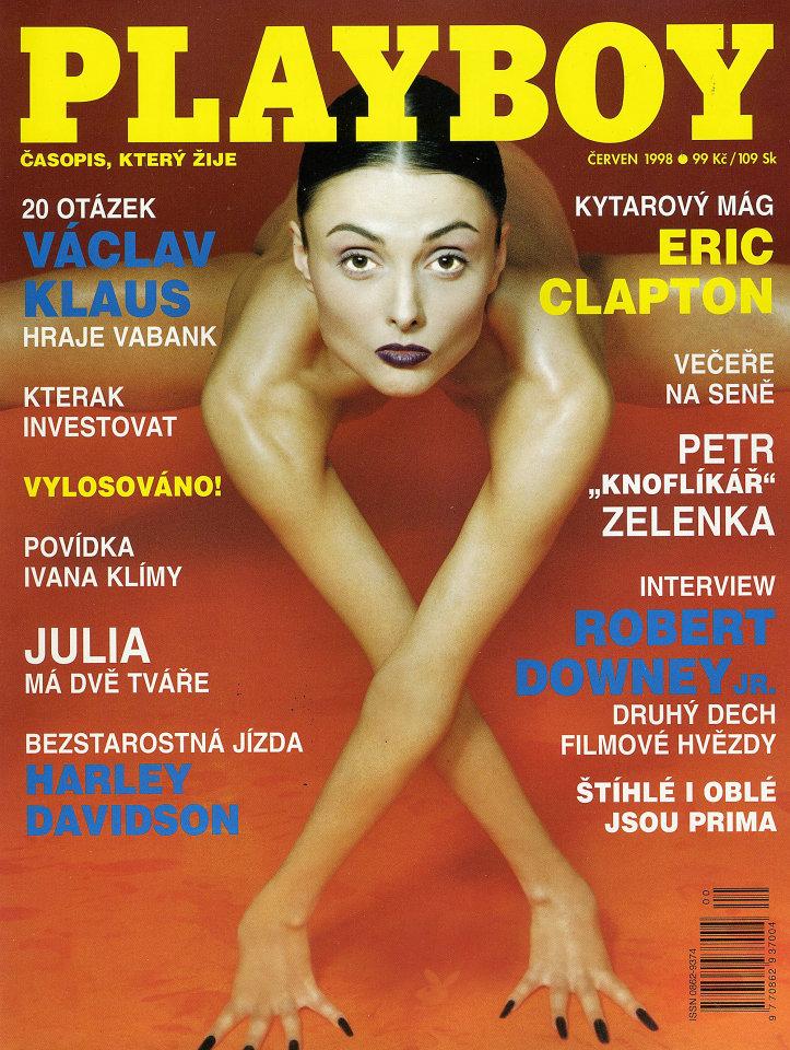 Playboy Czech / Slovak Vol. 4 (8) No. 6