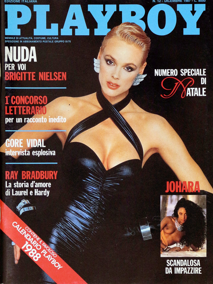 Calendario Play Boy.Magazine Playboy Dec 1 1987 At Wolfgang S