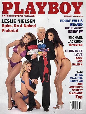 Playboy  Feb 1,1996 Magazine
