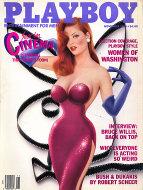 Playboy  Nov 1,1988 Magazine