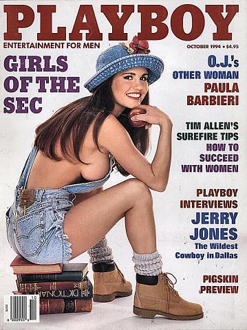Playboy  Oct 1,1994 Magazine