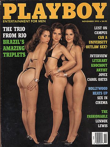 Playboy Vol. 40 No. 11 Magazine
