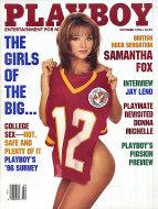 Playboy Vol. 43 No. 10 Magazine