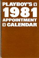 Playboy's 1981 Appointment Calendar Calendar