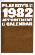 Playboy's 1982 Appointment Calendar Calendar
