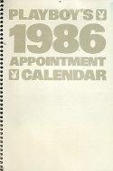 Playboy's 1986 Appointment Calendar Calendar