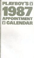 Playboy's 1987 Appointment Calendar Calendar