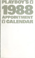 Playboy's 1988 Appointment Calendar Calendar