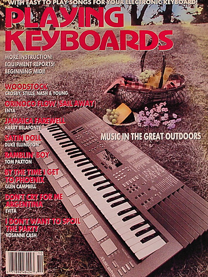 Playing Keboards Magazine