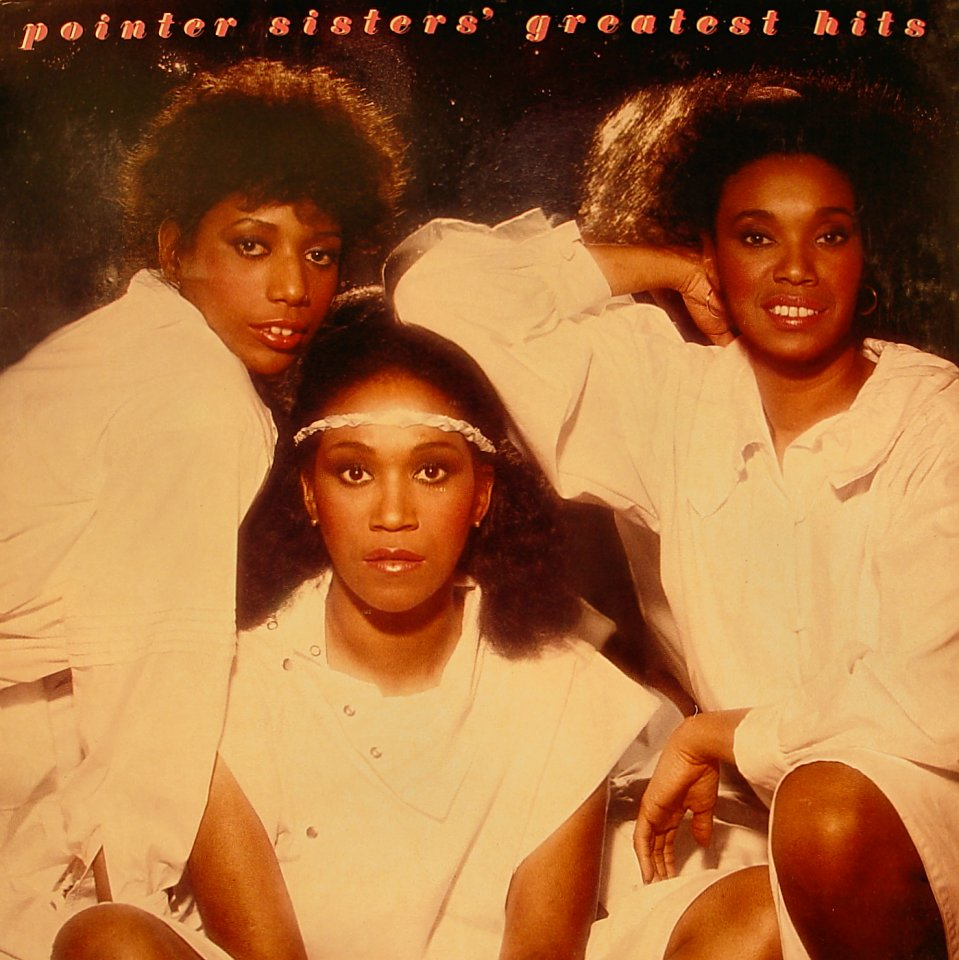 """Pointer Sisters' Greatest Hits Vinyl 12"""" (Used)"""