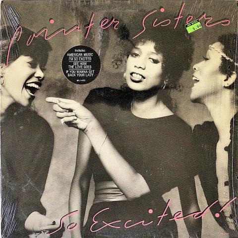 """Pointer Sisters Vinyl 12"""" (Used)"""