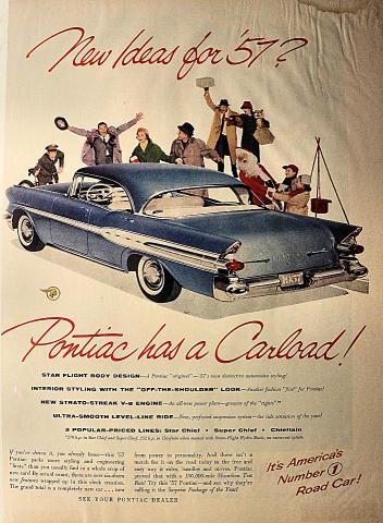 Pontiac: Star Chief / Super Chief / Chieftain Vintage Ad