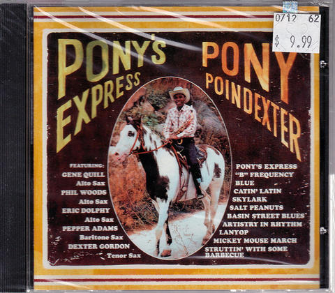 Pony Poindexter CD