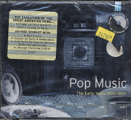 Pop Music: The Early Years 1890 - 1950 CD