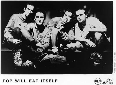 Pop Will Eat Itself Promo Print